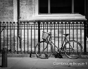 Bicycle Wall Art and Fine Art Prints-Black and White Bicycle Photography Prints- Unframed or Ready to Hang-Canvas-Art Panel-Framed