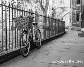 Bicycle Fine Art Photography Collection-Wall Art and Prints-Black and White Limited Edition Unframed or Ready to Hang-Canvas-Art Panel