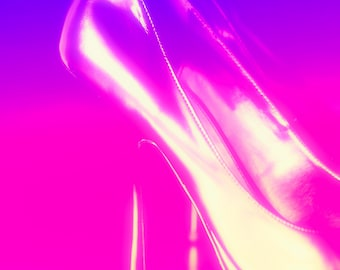 High Heeled Shoes Wall Art and Fine Art Prints-Photography-Dressing Room Wall Art- Unframed or Ready to Hang-Canvas-Art Panel Shoe Art