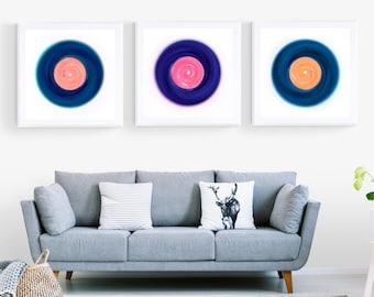 Pop Art Vinyl Music Art
