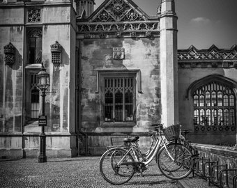 Bicycle Photography Prints- Wall Art and Fine Art Prints- Black and White Bicycle Prints- Unframed or Ready to Hang-Canvas-Art Panel-Framed