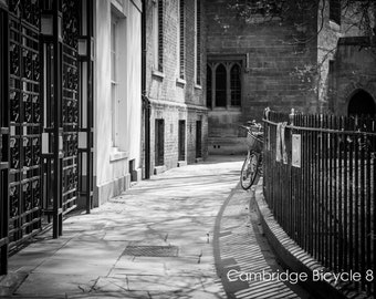 Bicycle Wall Art and Fine Art Prints- Bicycle Black and White Prints- Limited Edition- Unframed or Ready to Hang-Canvas-Art Panel-Framed