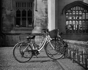 Bicycle Wall Art and Fine Art Prints-Black and White Bike Wall Art-Limited Edition Prints- Unframed or Ready to Hang-Canvas-Art Panel-Framed