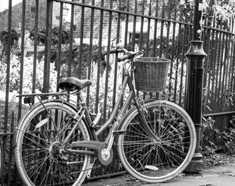 Bicycle Fine Art Collection-Wall Art and Fine Art Prints-Black and White Limited Edition Unframed or Ready to Hang-Canvas-Art Panel