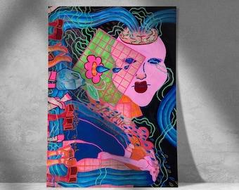 Electric Mind Print