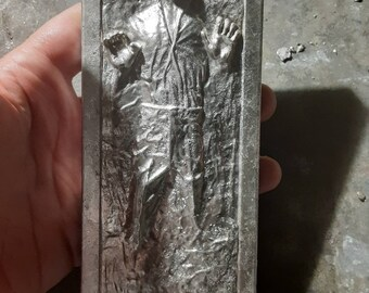 Han Solo frozen in bismuth/tin