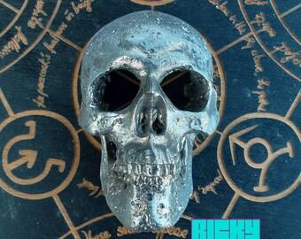Bismuth Fractal Crystal Skull