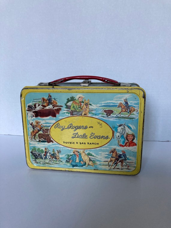 Vintage roy Rogers and dale evans lunchbox!
