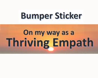 Empath Bumper Sticker