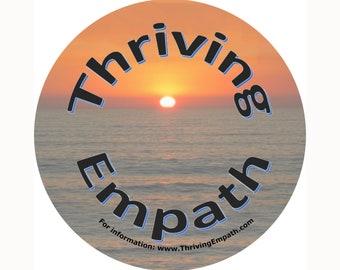 Thriving Empath Sticker