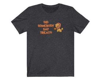 Trick or Treat/Somebody Say Treat/funny halloween dog shirt/funny halloween dog tee/halloween dog tshirt/halloween themed shirt/USA