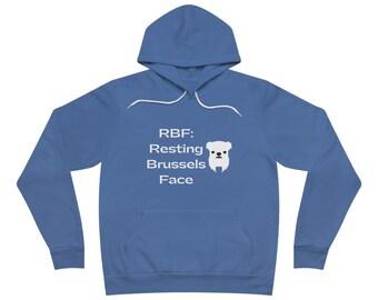 brussels griffon sweatshirt/brussels griffon hoodie/brussels griffon mom hoodie/brussels griffon mom sweatshirt/brussels mom gift/USA