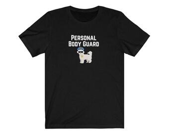 Maltese Body Guard/maltipoo mom shirt/maltese mom shirt/maltese lover gift/maltipoo lover gift/maltipoo mom shirt/bichon mom gift/USA