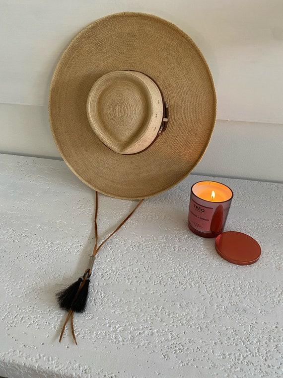 Blonde Wide Brim Hat - image 5