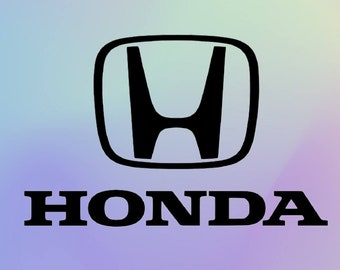 Honda Window Decal