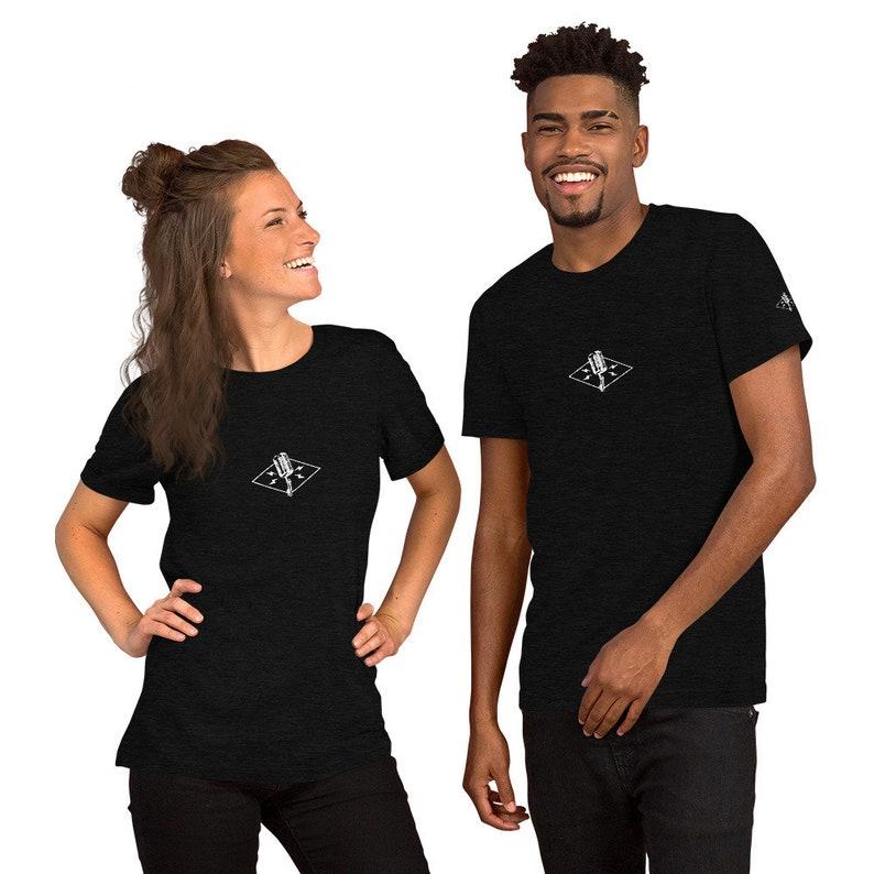 The Official Jazz Singer Short-Sleeve Unisex T-Shirt image 1