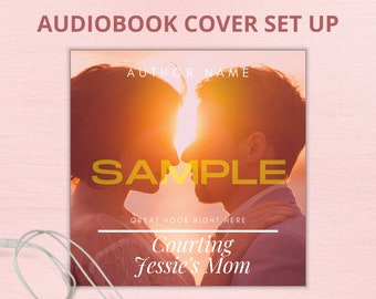 Audiobook Book Cover Set Up of the Exact Premade eBook Cover Purchased from PremadeEBookCoverETC