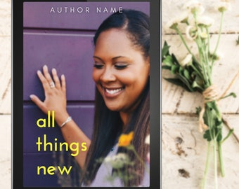 """Premade Romance EBook Cover Includes 3 FREE Mockups 