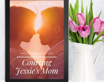 Premade Romance EBook Cover Includes 3 FREE Mockups | sweet romance, clean read