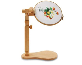 embroidery hoop stand-Cross Stitch Stand Embroidery Hoop Stand-Size Adjustable Embroidery Stand