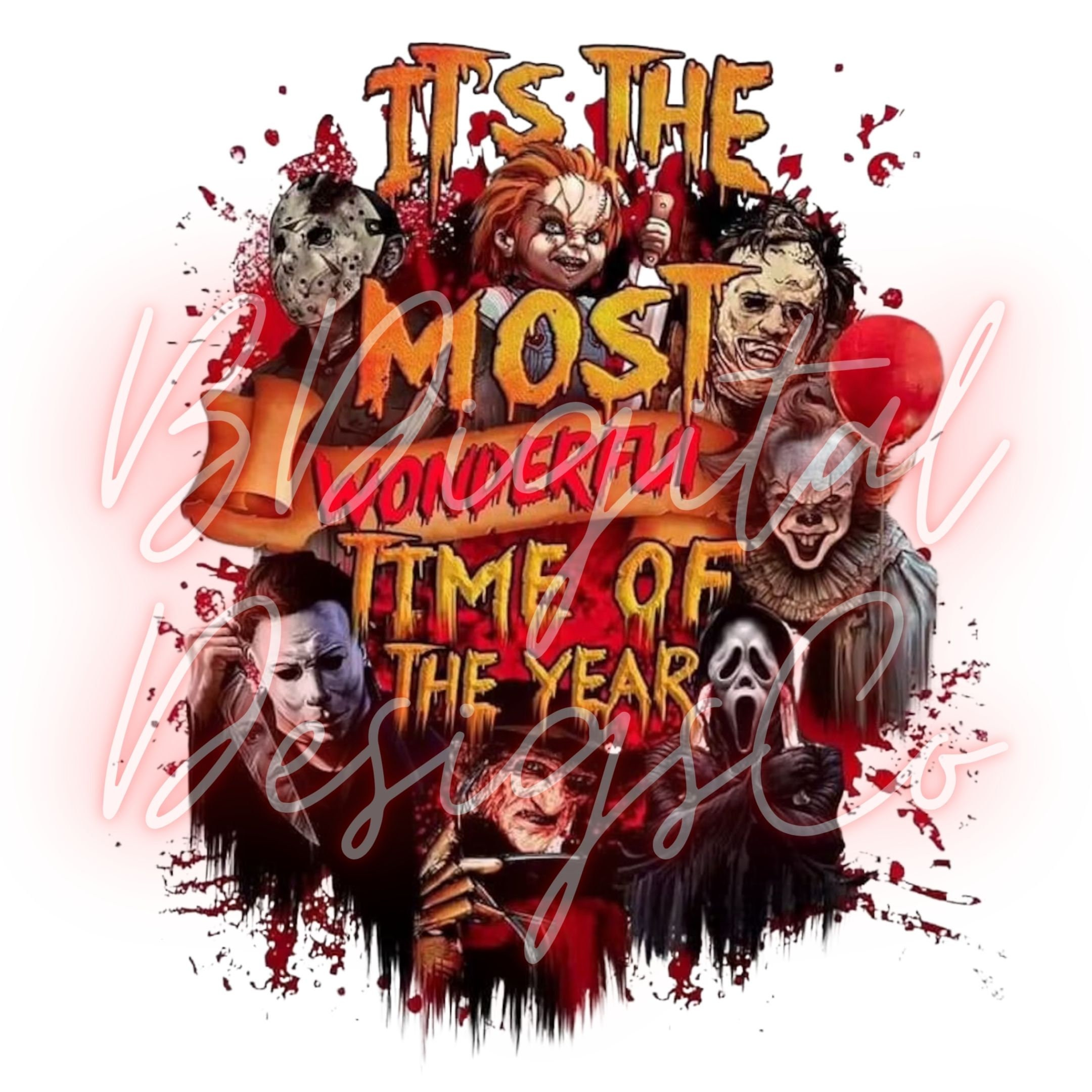 It's The Most Wonderful Time Of The Year Halloween Digital Print