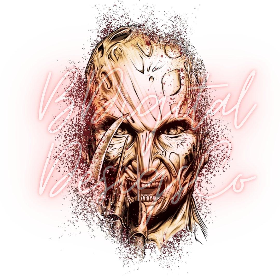 Freddy Krueger - Nightmare on Elm Street - Sublimation - Digital - PNG