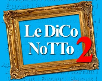The DiCo NoTTo 2 - Book comic strips of humor / with or without dedication drawn Active