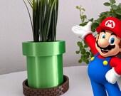 Mario Warp Pipe Planter