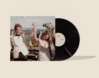 "Custom Vinyl Mixtape 12"" Record • Your Own Photo Image • Wedding •Anniversary • Birthday • Unique Playlist • Gift • Songs"