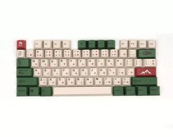 Cherry mx keycaps, gmk keycap, pbt keycap set, cute keycap set, japanese keycaps, keyboard keycaps set, keycap set full, theme keycaps