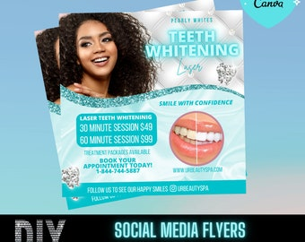 Teeth Whitening Flyer