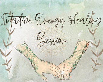 Intuitive Energy Healing Session: Clear Aura & Chakras