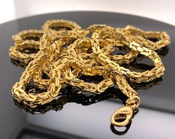 Royal necklace 14 carat 67.8 grams
