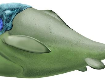 Dunkleosteus Sticker