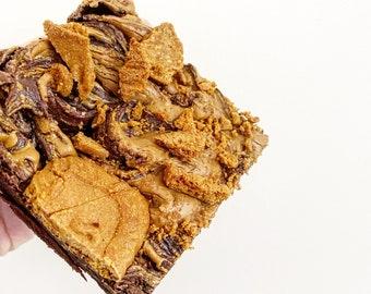 Vegan Lotus Biscoff Brownies (box of 6)