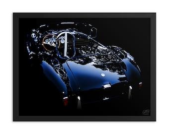 """Framed Cobra 18"""" X 24"""" Poster - AC Cobra - 18"""" X 24"""" Framed Museum-Quality Poster"""