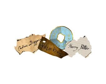 Triwizard Tournament Aspirants - Champions Paper Inscription