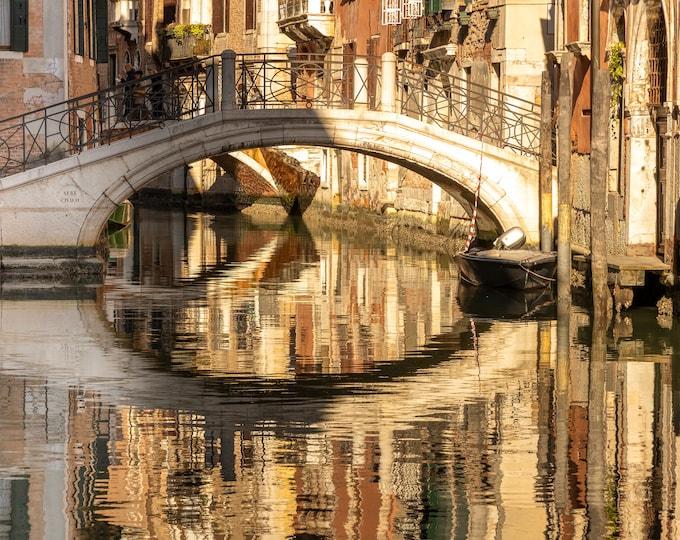 Venice Italy Wall Art, Canvas, Fine Art Print Travel Photography, Venice Canal Photo, Europe, Italian Wall Decor Master Of Photography
