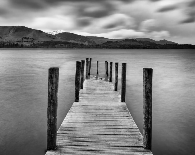 High Water at Deerwent Water Jetty Master Of Photography