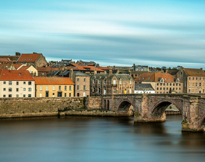 Old Bridge at Berwick Upon Tweed Master Of Photography