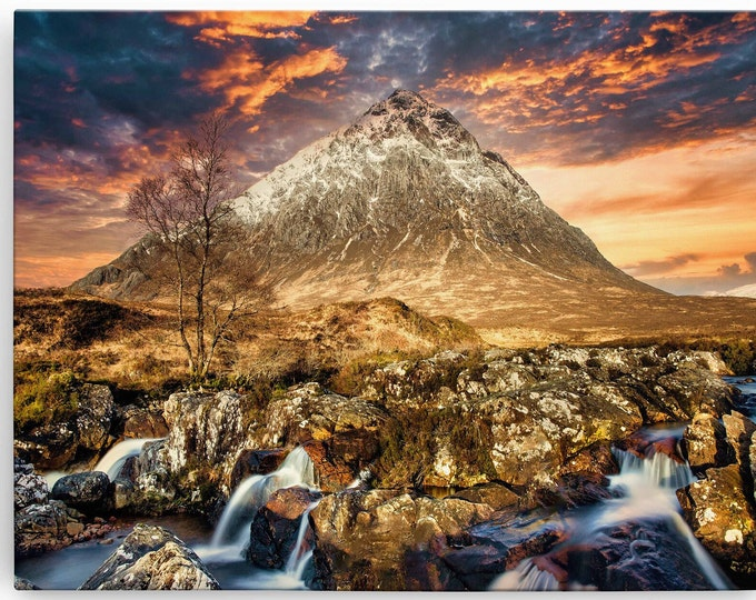 Buachaille Etive Mor Canvas Print - Click Read Full Description For My Story Master Of Photography