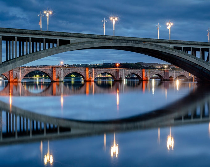 Berwick Upon Tweed New And Old Bridge Master Of Photography