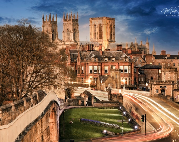 York Minster Canvas Master Of Photography