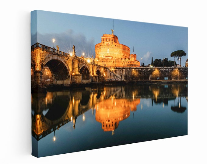 Castel Sant'Angelo and Bridge of Angels in Rome Master Of Photography