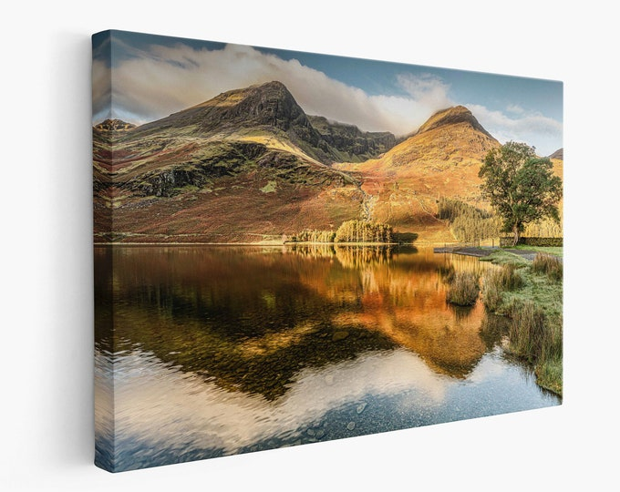Buttermere Lake Reflections Master Of Photography
