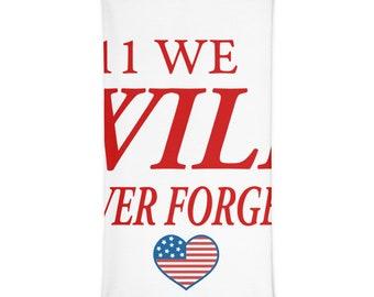 Commemorative 9/11 Memorial Neck Gaiter