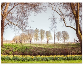 A Day in the Amstelpark in Amsterdam (Holland) / Netherlands/ Poster