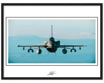 F-16V Viper - framed