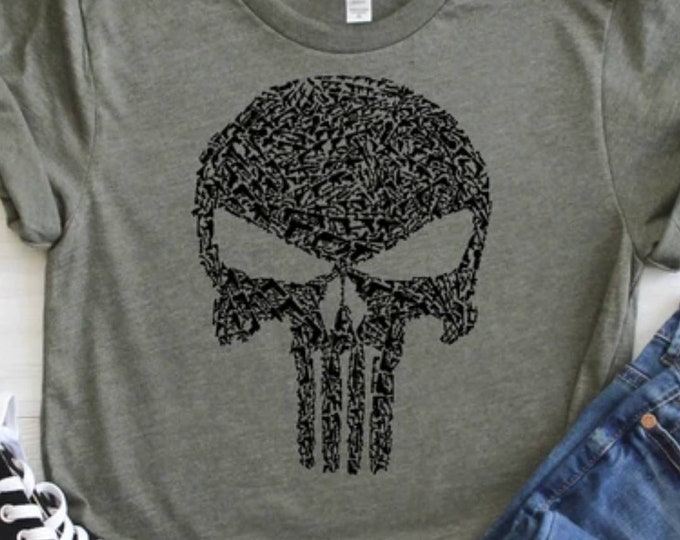 1200 Guns, Punisher Shirt