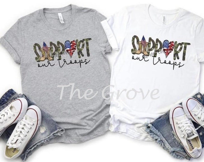 Support Our Troops, Graphic Tee
